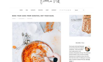 StudioPress Foodie Pro theme review (2021),