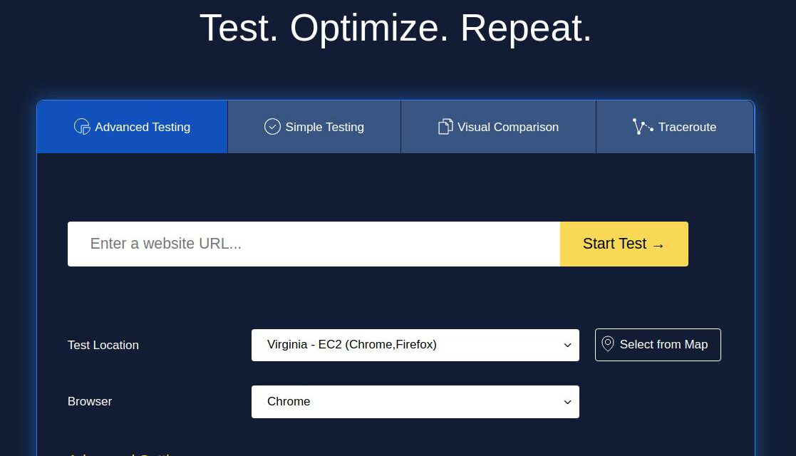 WebPageTest review – A great tool for testing website speed