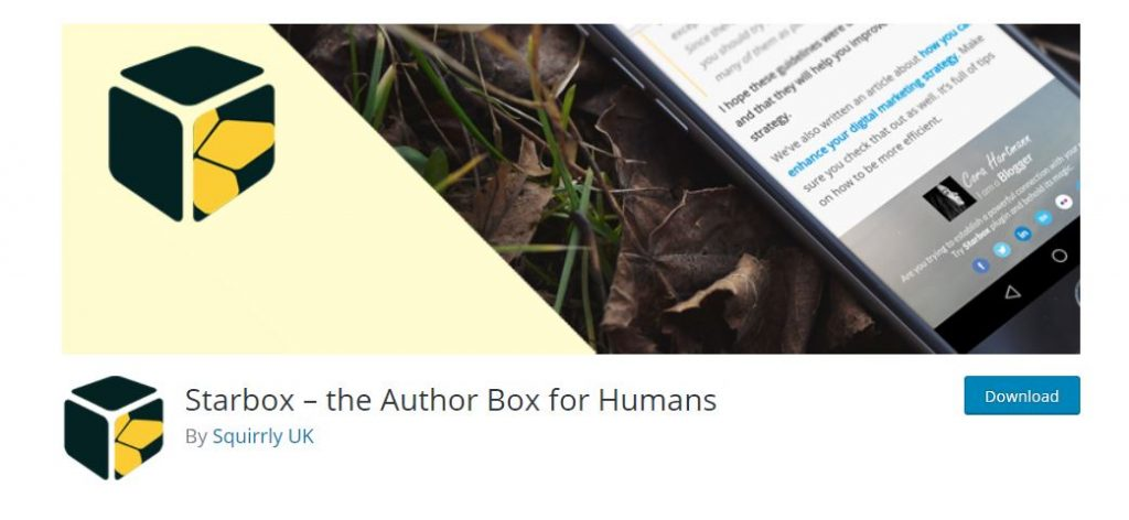 Starbox-the Author Box for Humans
